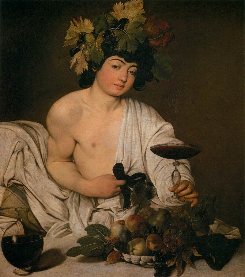 Boy with a Basket of Fruit, 1593 by Caravaggio