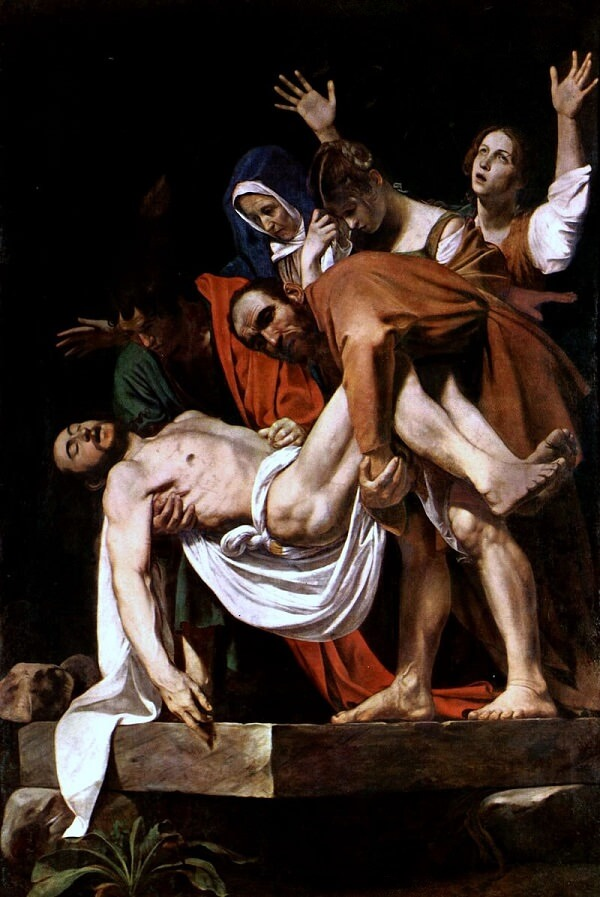 The Entombment, 1603 by Caravaggio
