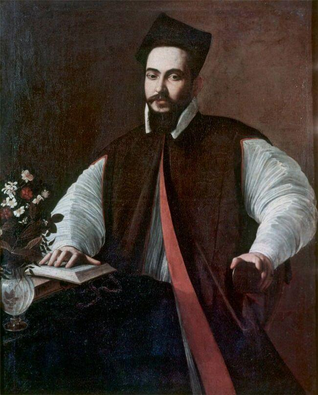 Portrait of maffeo barberini - by Caravaggio