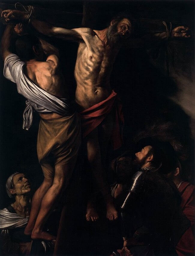 The Crucifixion of St. Andrew, 1607 by Caravaggio