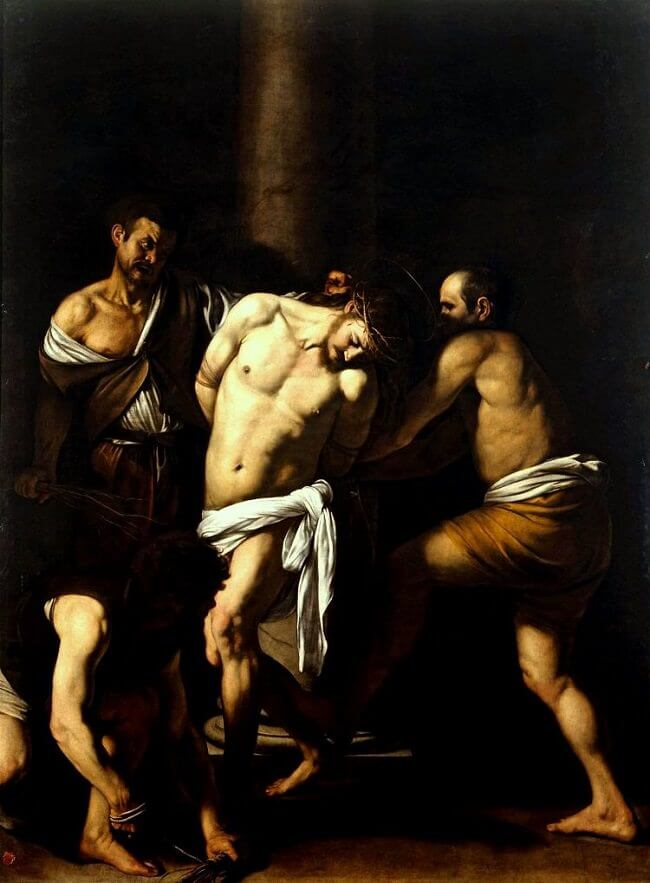 The Flagellation of Christ, 1607 by Caravaggio
