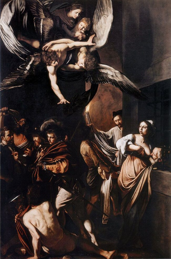 The Seven Works of Mercy, 1607 by Caravaggio
